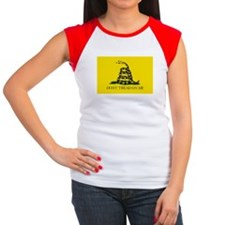 Gadsden Flag Women's Cap Sleeve T-Shirt