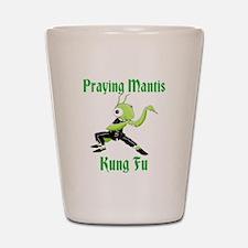 Kung Fu Praying Mantis Shot Glass