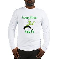 Kung Fu Praying Mantis Long Sleeve T-Shirt