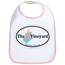 Martha's Vineyard MA - Oval Design. Bib