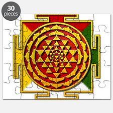 Sri Yantra Mandala Puzzle