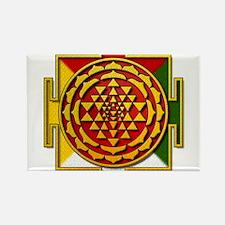 Sri Yantra Mandala Rectangle Magnet (10 pack)