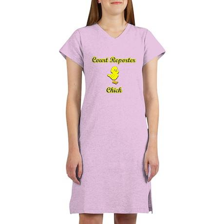 Court Reporter Chick Women's Nightshirt