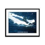 USS LAFAYETTE Framed Panel Print
