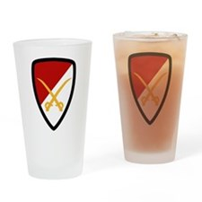 6th Cavalry Bde Drinking Glass