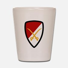 6th Cavalry Bde Shot Glass