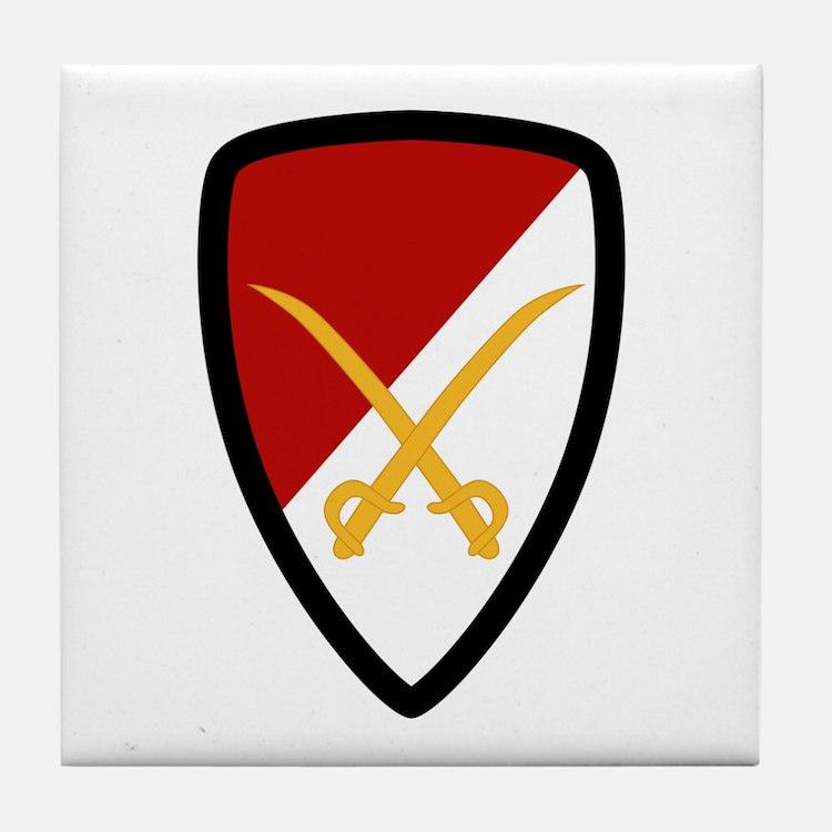 6th Cavalry Bde Tile Coaster