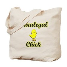 Paralegal Chick Tote Bag