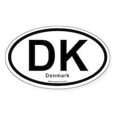 DK Denmark Decal
