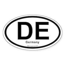 DE Germany Decal