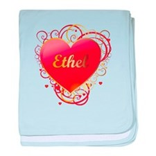 Ethel Valentines baby blanket