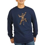 Rock Climber Long Sleeve Dark T-Shirt