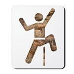 Rock Climber Mousepad