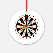 Dartboard Bullseye Ornament (Round)