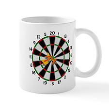 Dartboard Bullseye Mug