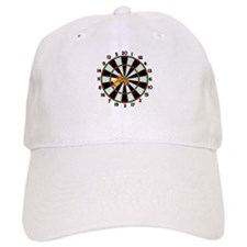 Dartboard Bullseye Baseball Cap