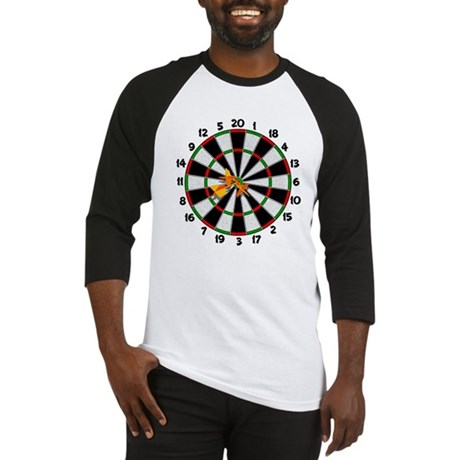 Dartboard Bullseye Baseball Jersey