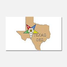 Texas OES Car Magnet 20 x 12