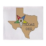 Texas OES Throw Blanket