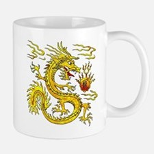 Golden Dragon Mug