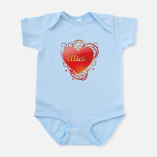 Alicia Valentines Infant Bodysuit