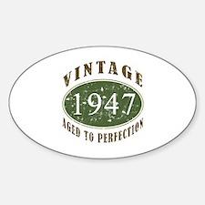Vintage 1947 Retro Decal