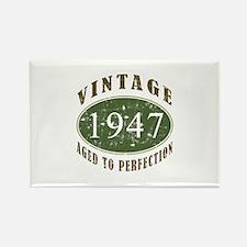 Vintage 1947 Retro Rectangle Magnet