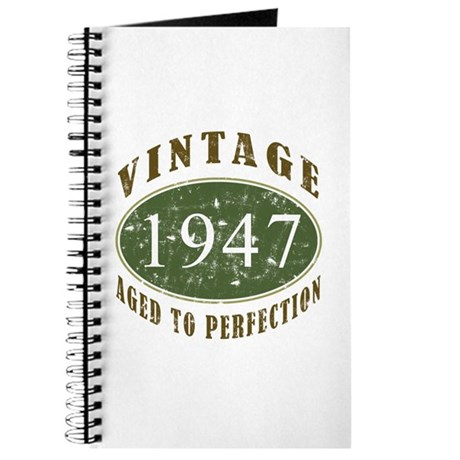 Vintage 1947 Retro Journal
