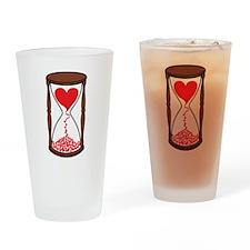 Fleeting Love Drinking Glass