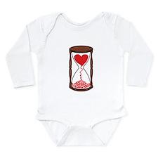 Fleeting Love Long Sleeve Infant Bodysuit