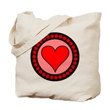 Sealed Heart Tote Bag