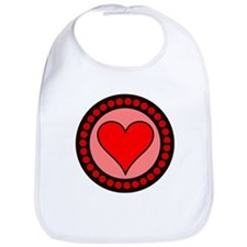 Sealed Heart Bib