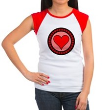 Sealed Heart Women's Cap Sleeve T-Shirt