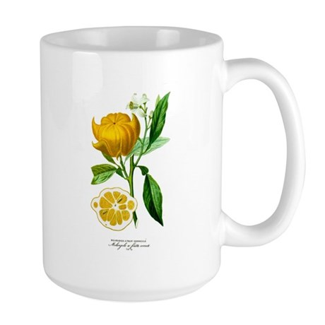 Histoire naturelle des orangers tab 32 Large Mug