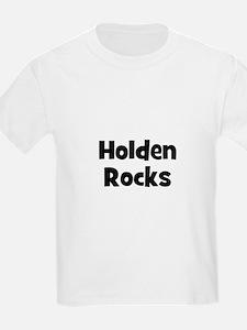 Holden Rocks Kids T-Shirt