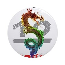 Year of the Dragon 2012 Ornament (Round)