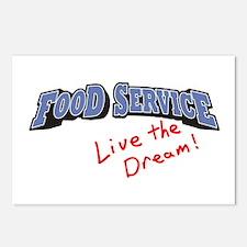 Food Service - LTD Postcards (Package of 8)
