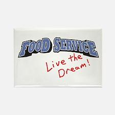Food Service - LTD Rectangle Magnet