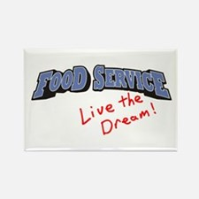 Food Service - LTD Rectangle Magnet (100 pack)