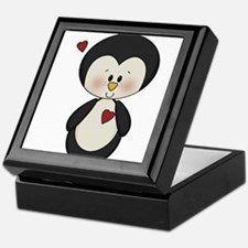 Penguin in Love Keepsake Box