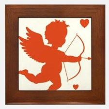 Cupid Framed Tile