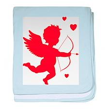 Cupid baby blanket