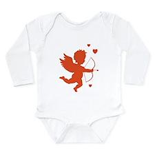 Cupid Long Sleeve Infant Bodysuit