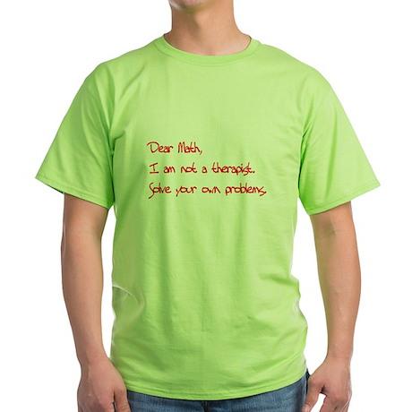 Dear Math, T-Shirt