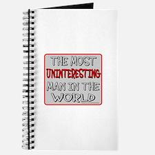 MOST UNINTERESTING MAN Journal