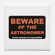 Beware / Astronomer Tile Coaster