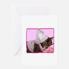 Princess Cat Greeting Card