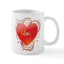 Ana Valentines Small Small Mug