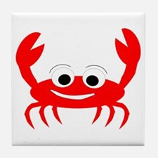 Crab Design Tile Coaster