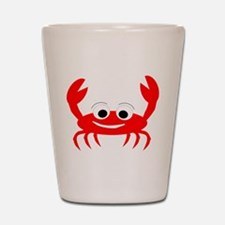 Crab Design Shot Glass